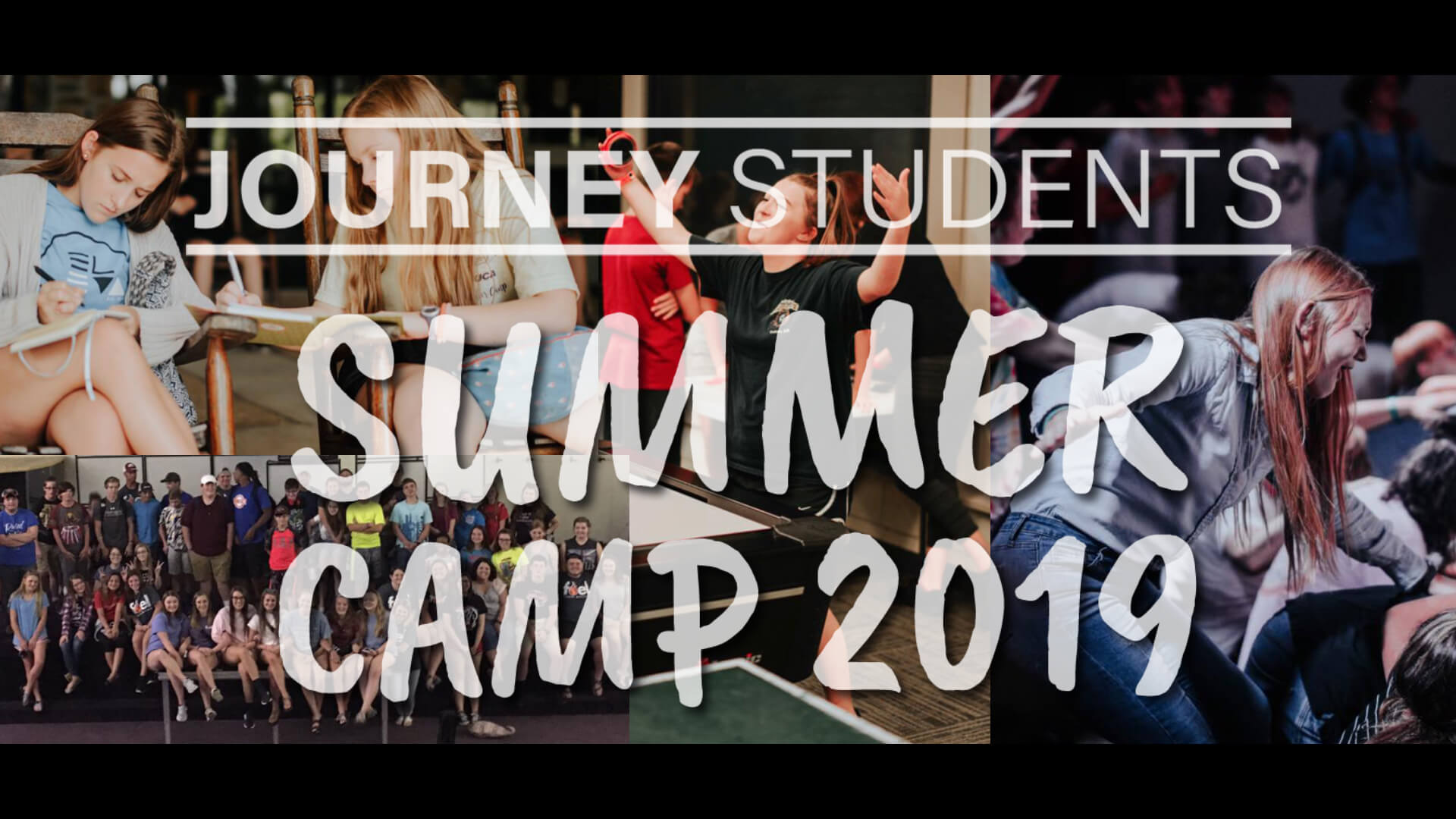 Journey Students Summer Camp 2019