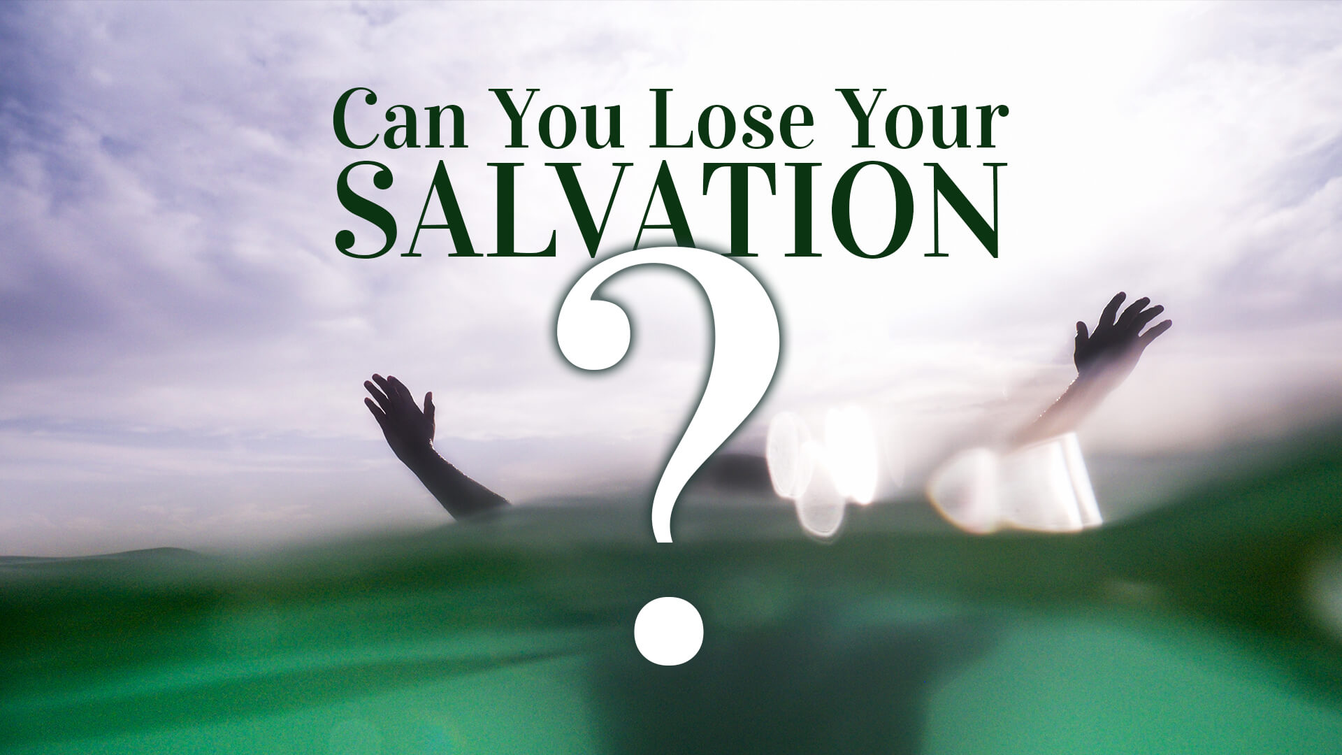 Can you loose your salvation Journey Church?
