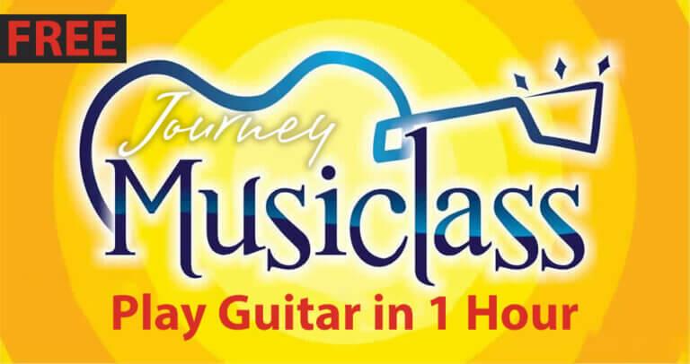 Journey Church Free Music Guitar Class in Alexandria
