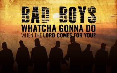 Bad Boys, Bad Boys, Whatcha Gonna Do When the Lord Comes for You | David