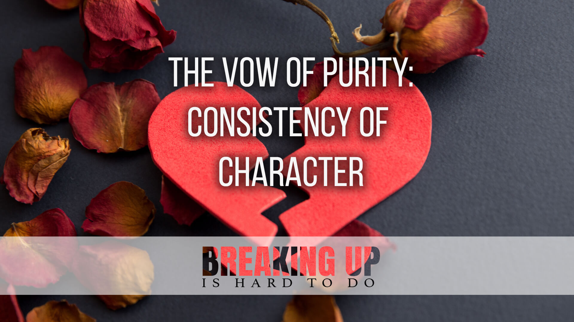 The Vow of Purity: Consistency of Character